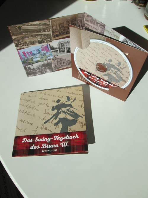 HÖRBUCH // Das Swingtagebuch des Bruno W., Berlin 1937–39